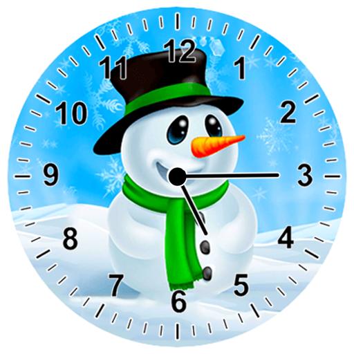 雪人 模擬時鐘 個人化 App LOGO-APP開箱王