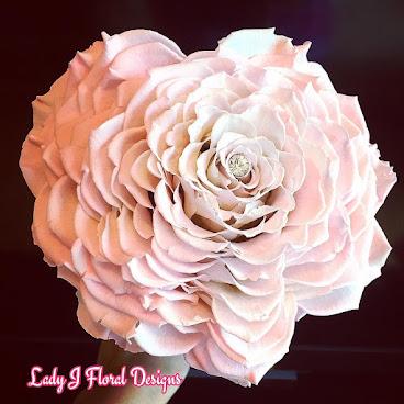 💐💖心型巨型玫瑰花球💖💐