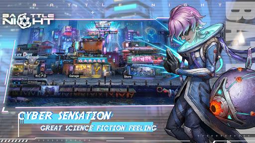Battle Night: Cyber Squad-Idle RPG 1.0.3 screenshots 1