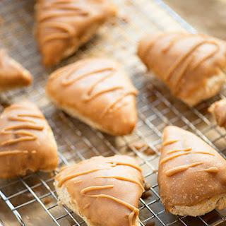 Maple Glazed Cinnamon Scones