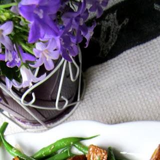 Roasted Potato & Green Bean Salad w/ Rosemary Vinaigrette