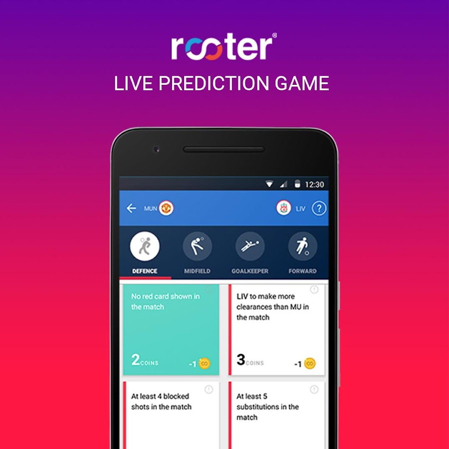 Rooter - Live Cricket Football Score & Sports News - Android Apps ...