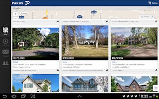 Screenshot of Parks – Nashville Homes