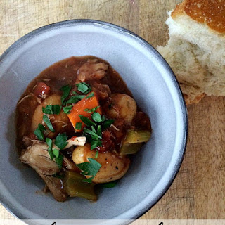Slow Cooker Tuscan Chicken Stew.