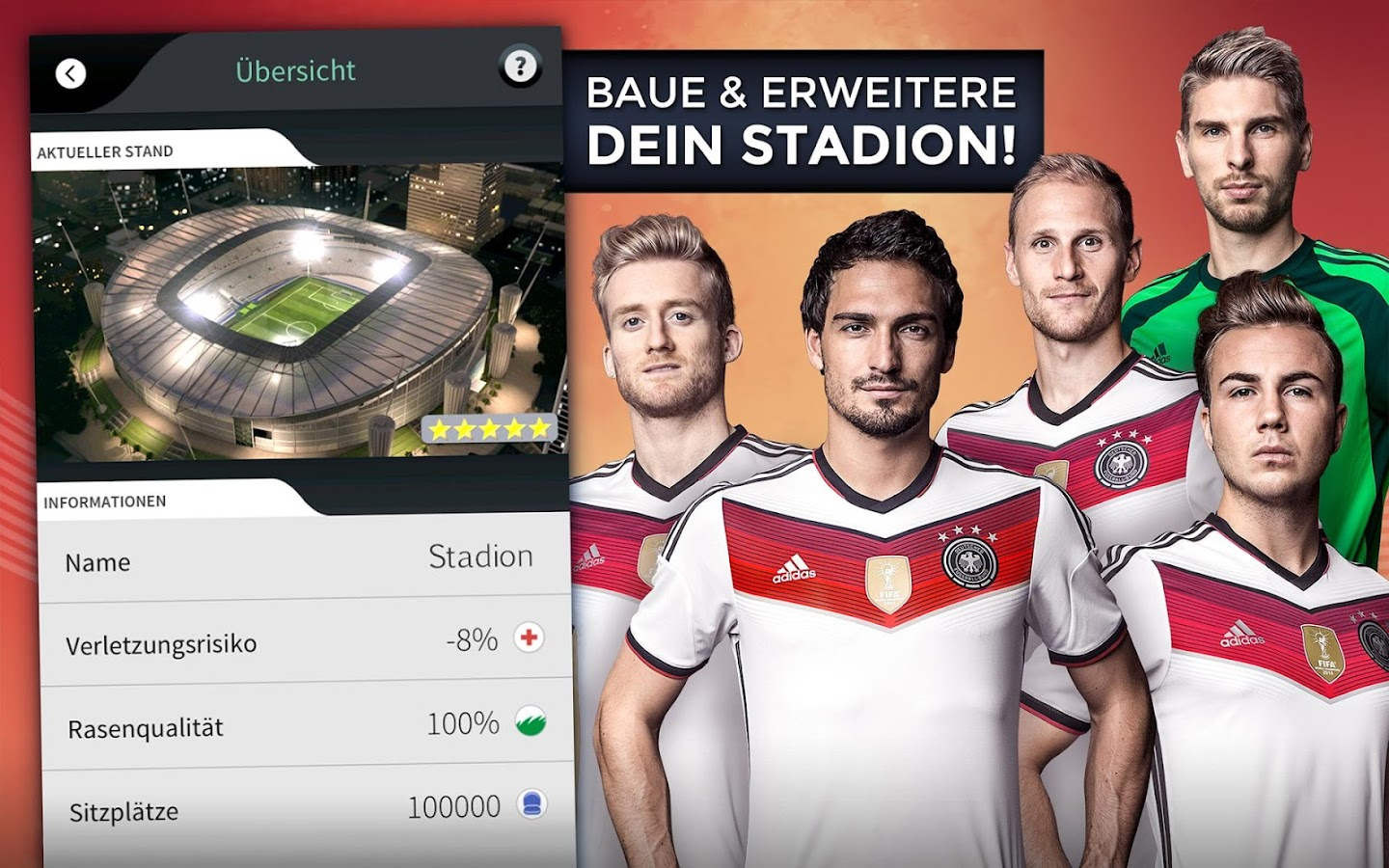 Goal One - DFB Fußball Manager- screenshot