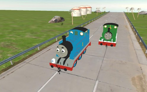 Thomas the Racing Train - náhled