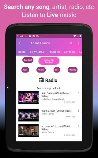 Download music, Free Music Player, MP3 Downloader 1.126 screenshots 12
