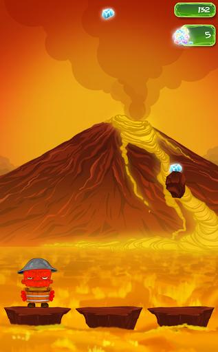 Volcanoid: Volcano Eruption
