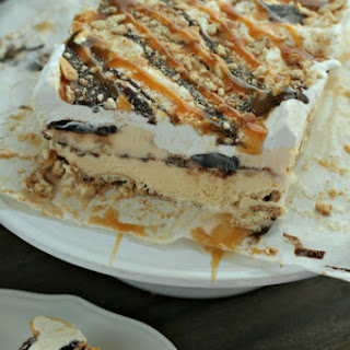 Caramel Ice Cream Cake Recipes
