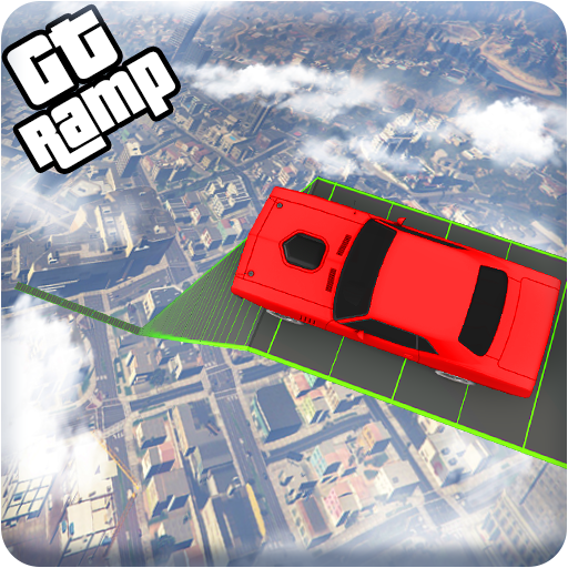 GT Vertical Ramp Car Stunt Racing: Mega Ramp Games