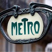 map of Paris metro