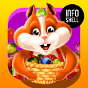 Fruit Hamsters–Farm of Hamsters: Match 3 game Free icon