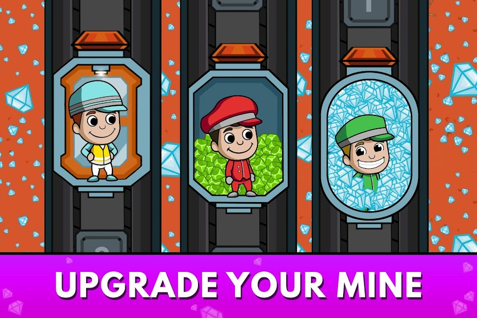 Idle Miner Tycoon: Mine & Money Clicker Management Android App Screenshot