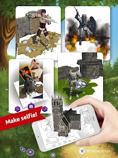 3D AR Knight- screenshot thumbnail