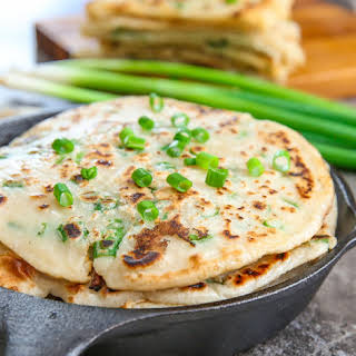 Shortcut Chinese Scallion Pancakes.