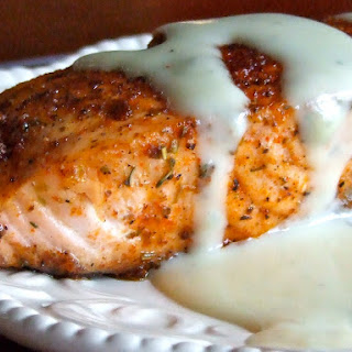 Blue Cheese Sauce On Fish Recipes.