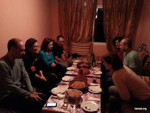 Photo: Nuestra primera cena en Imlil
