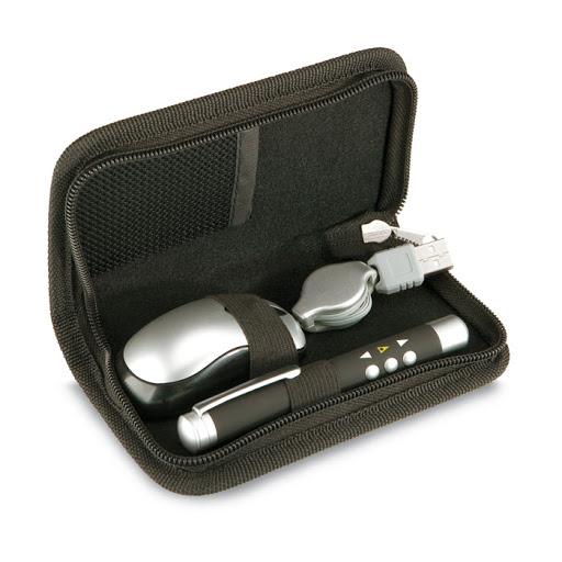 Mouse & laser pointer set