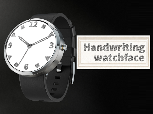 Handwriting watchface