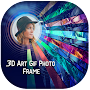 3D Art GIF Photo Frame Editor Effects APK icon