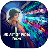 3D Art GIF Photo Frame Editor