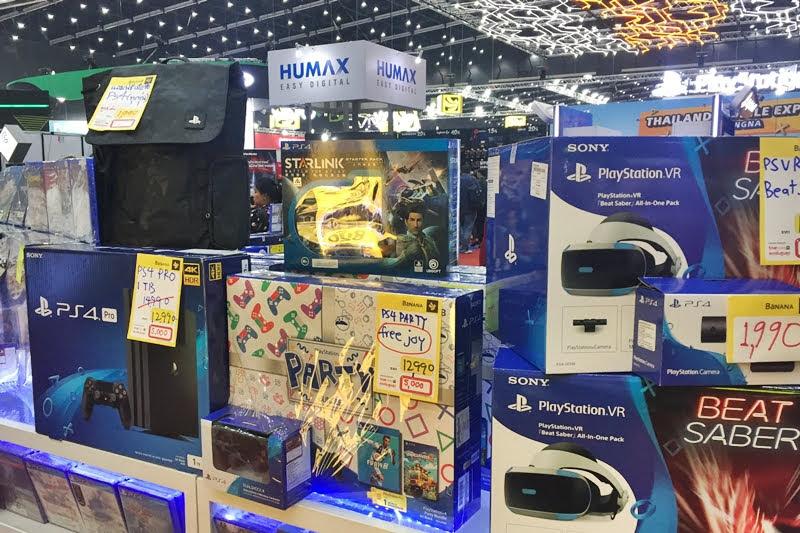 Thailand Garme Expo PS4