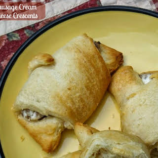 Sausage Cream Cheese Crescents.