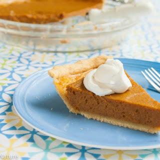 Pumpkin Pie - Gluten Free Dairy Free.