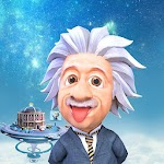 Human Heroes Einstein On Time Icon