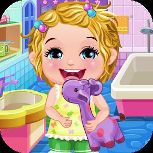 Baby Elsa Take Care & Bath
