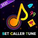 Set Caller tune : Video Status, Wallpaper, Quotes icon