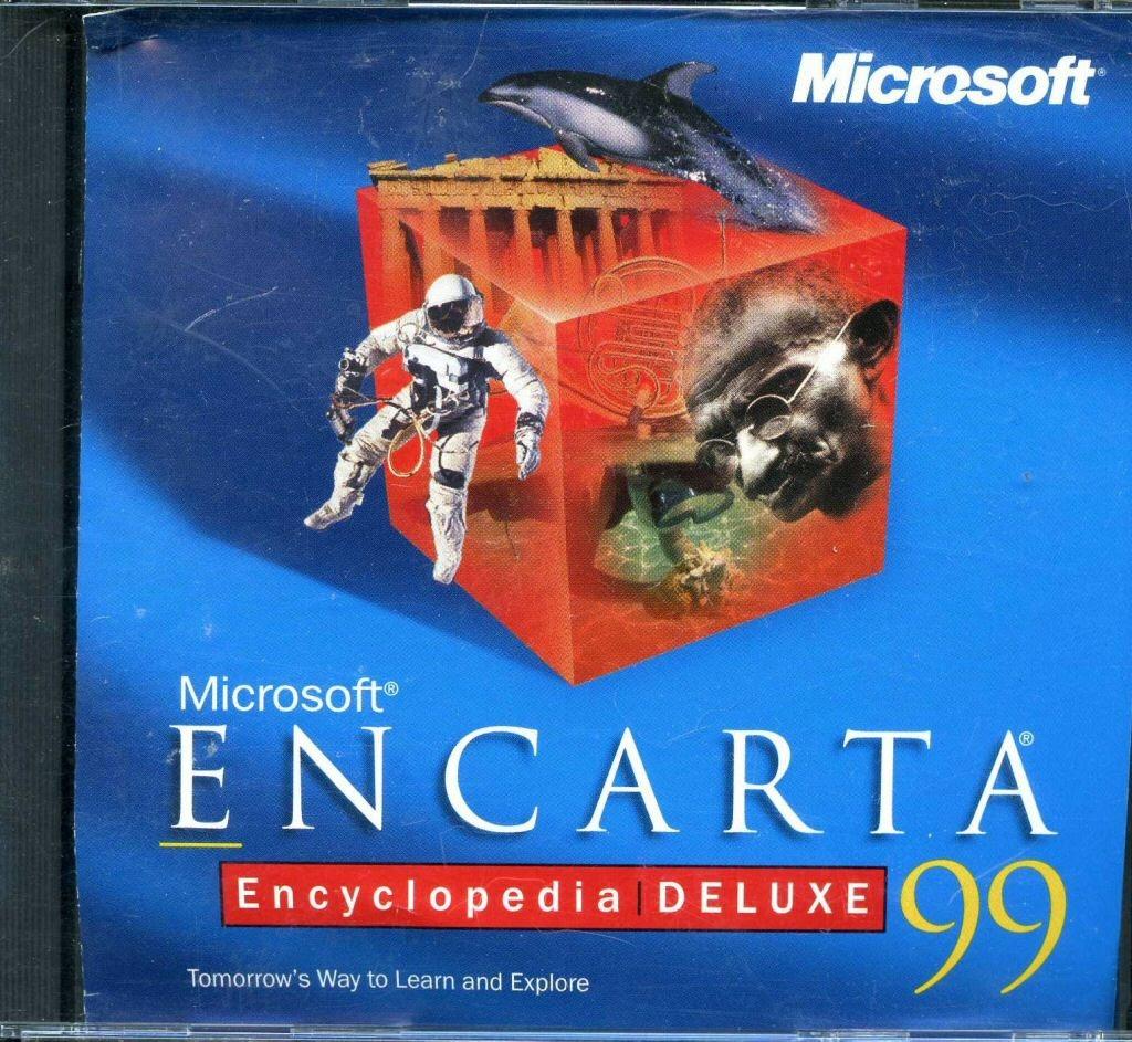 Computer software:Microsoft Encarta Encyclopedia Deluxe 99