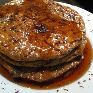 Baked Pumpkin Chocolate Chip Pancakes