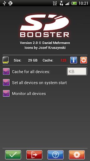 SD Booster screenshot 1
