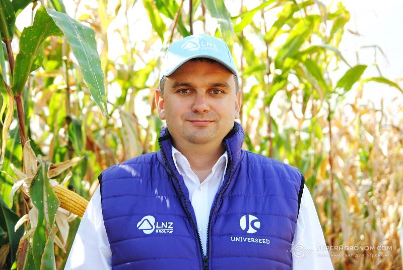 Володимир Ільченко, кандидат с.-г. наук, менеджер з розвитку агротехнологій Північно-Східного регіону компанії LNZ Group
