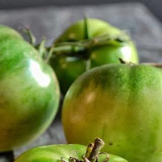 Savory Green Tomato Cobbler