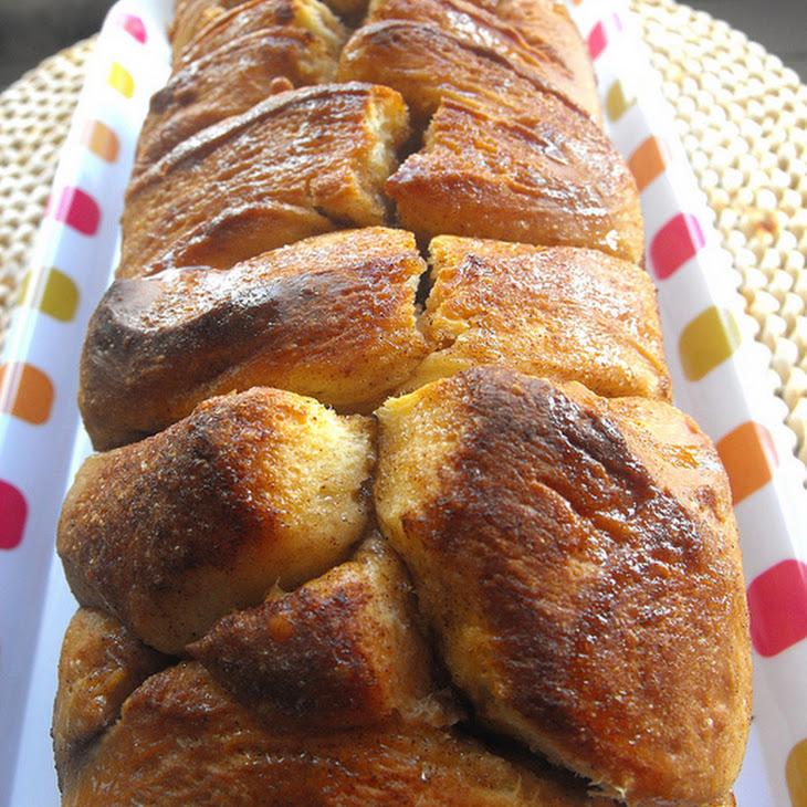 Brioche bread with cinnamon - Bimby recipe