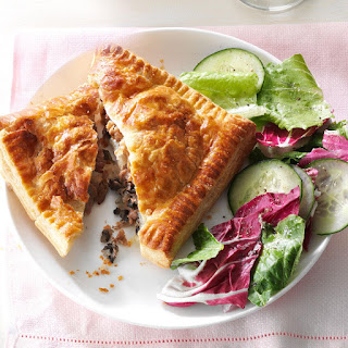 Provolone Beef Pastry Pockets.