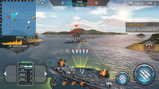 Warship Attack 3D 1.0.4 screenshots 2