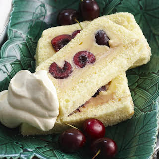 Sponge Cake With Custard Filling Recipes.