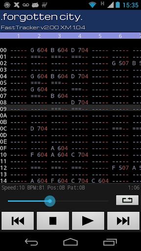 Xmp Mod Player 4.12.0 screenshots 4