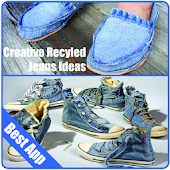 Creative Recycled Jeans Ideas