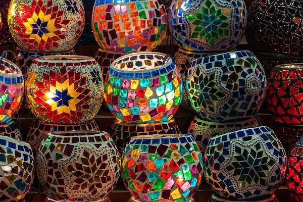 Pezzi di vetro di Pino Cappellano