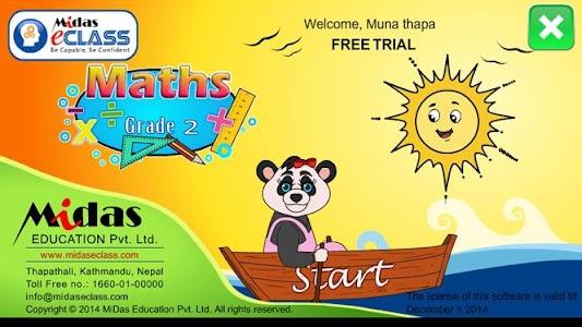 MiDas eCLASS Maths 2 Demo screenshot 0
