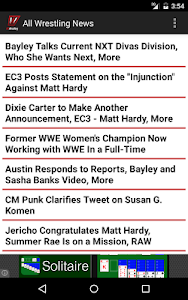 All Wrestling - News screenshot 3