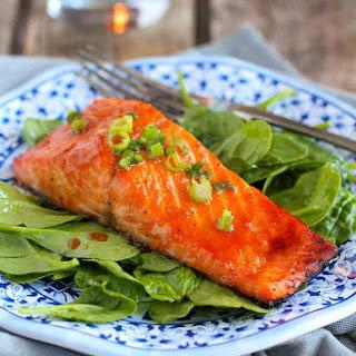Soy Honey Glazed Salmon Recipe