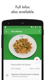 Mensa Plus - Dresden Mensa App - náhled