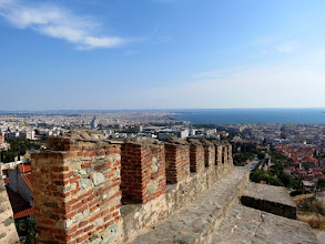 Photo: Thessaloniki - view from Ano Poli