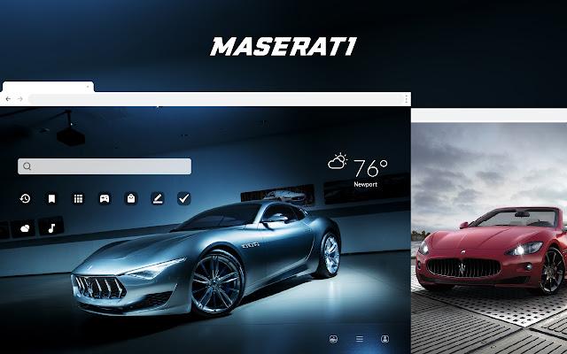 Maserati HD Car Wallpapers New Tab Theme