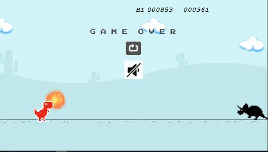 Dino T-Rex: Run Jump Chrome - náhled